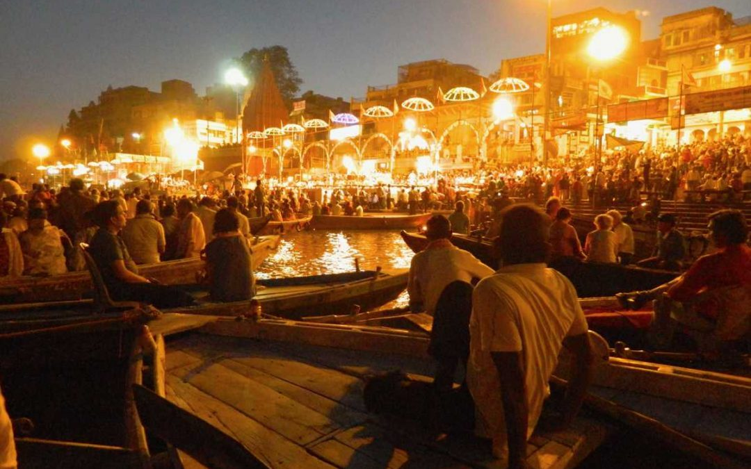 The magic of the Ganges: Evening aarti at the Varanasi ghats