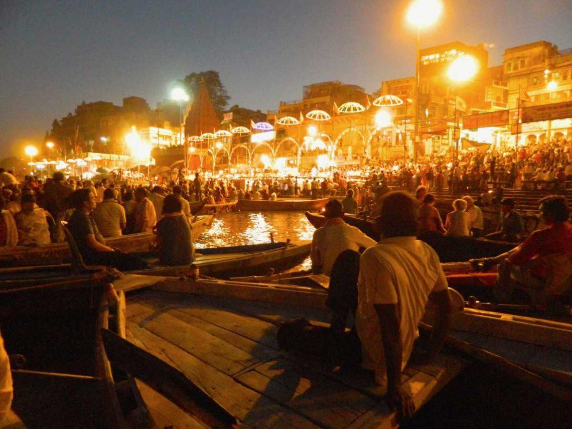 Ganges - Ghats in Varanasi