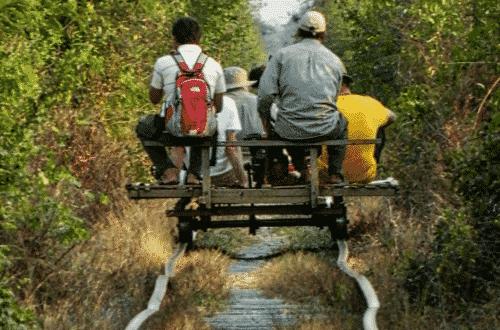 Krong Battambang - Train