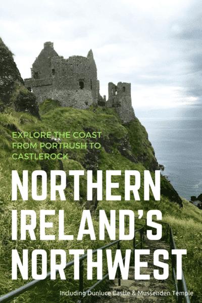 Northern Ireland's northwest pin