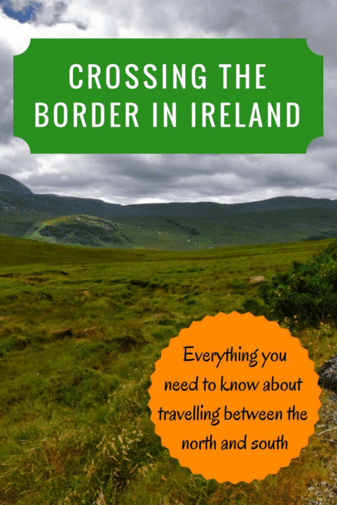 Ireland is a country divided in two: the Republic of Ireland and Northern Ireland (part of the UK). Here is your guide to crossing the Irish border. |Crossing to Ireland | Do I need a passport to travel to Ireland | What do you need to cross the border | #irishborder #crossingtheirishborder #crossingtheborderireland