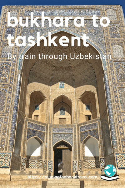 Using the trains in Uzbekistan is a great way to experience the country, as I found out on a trip from Bukhara to Tashkent. | Tashkent Bukhara | Tashkent to Bukhara train | Tashkent train station | Uzbek railways | Uzbekistan railways | Trains in Uzbekistan