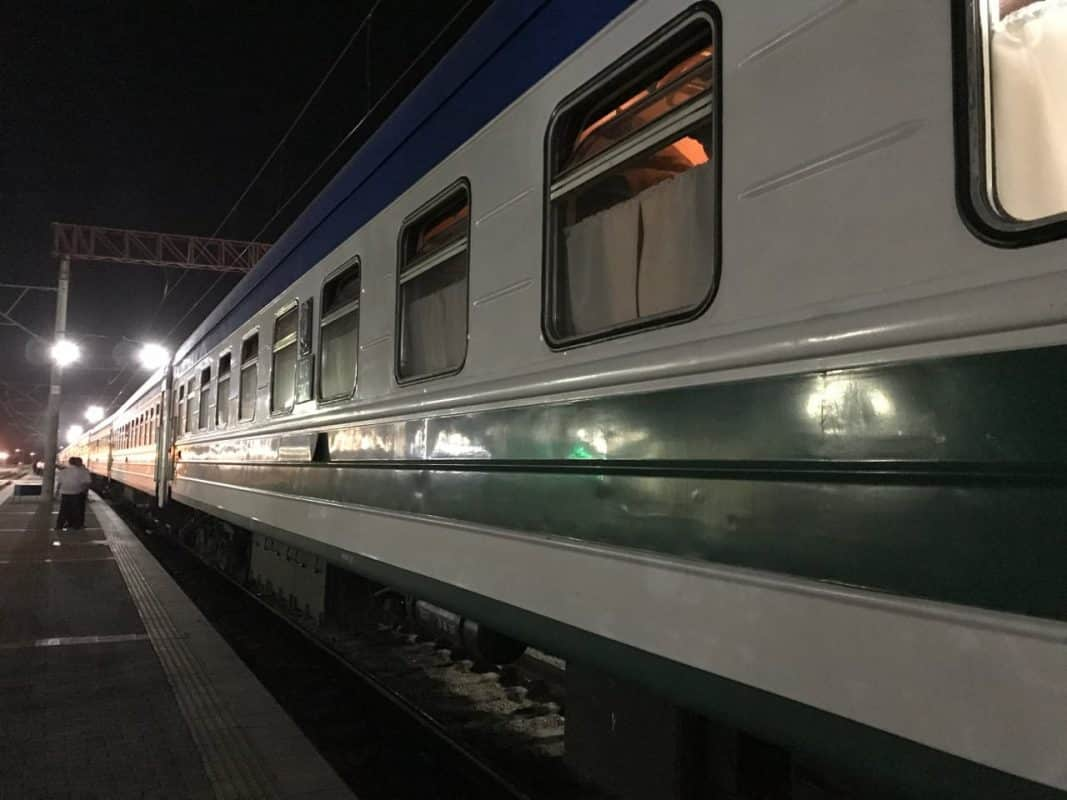 Using the trains in Uzbekistan is a great way to experience the country, as I found out on a trip from Bukhara to Tashkent.   Tashkent Bukhara   Tashkent to Bukhara train   Tashkent train station   Uzbek railways   Uzbekistan railways   Trains in Uzbekistan