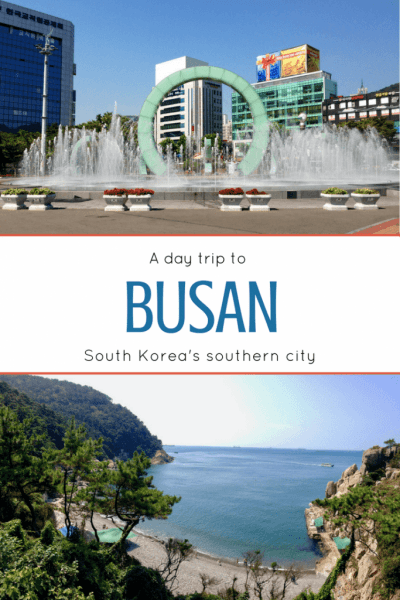 Day trip to Busan pin