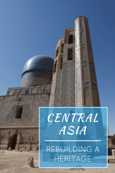 central asia heritage pin