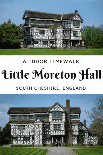 Little Moreton Hall pin