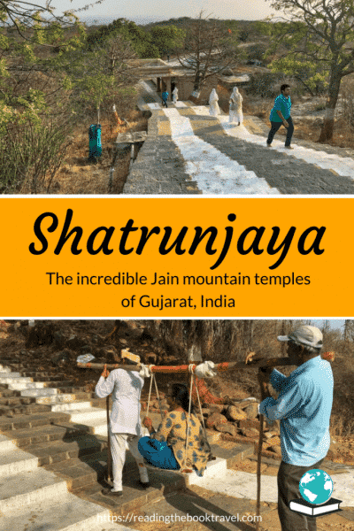 The hills of Shatrunjaya, in the Indian state of Gujarat, are home to the holiest pilgrimage site in the Jain religion. Discover the reality of climbing the 3300 steps to the hilltop temple, and why the temple complex is absolutely worth the effort! | Shatrunjaya Gujarat | Palitana pilgrimage | Jain religion | Jain pilgrimage Shatrunjaya | Gujarat India | #jainism #jainpilgrimage #incredibleindia #gujaratindia #visitgujarat #shatrunjaya #palitana