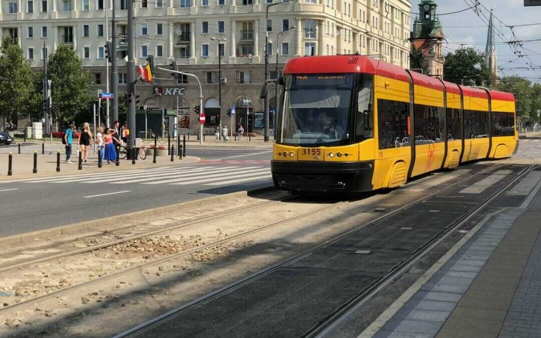 Getting around Warsaw by public transport
