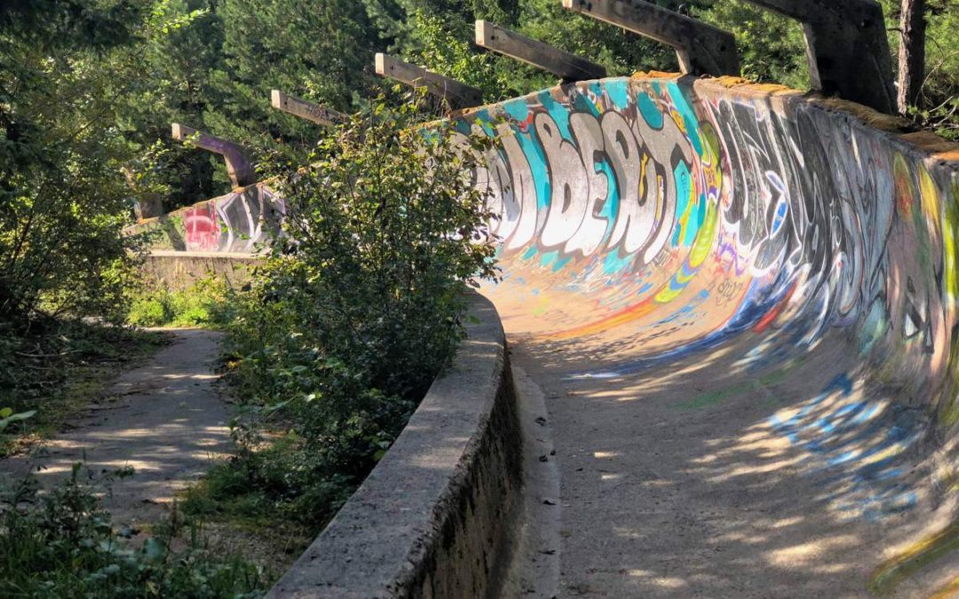 What to do in Sarajevo: The abandoned Sarajevo bobsled track