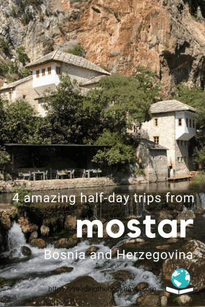 Four perfect half day trips from Mostar, Bosnia and Herzegovina! | Day trip from Mostar | Mostar tour | Dubrovnik to Mostar | What to see in Mostar | Mostar day trips | Day trip to Mostar | Mostar day trip | Mostar day tour | Bosnia day tours | Bosnia and Herzegovina day tours | Things to do in Mostar | Visit Mostar from Dubrovnik | Mostar visit | Dubrovnik day trips | Blagaj | Medjugorje | Pocitelj | Kravice waterfalls | Kravica Falls | Things to see in Bosnia and Herzegovina