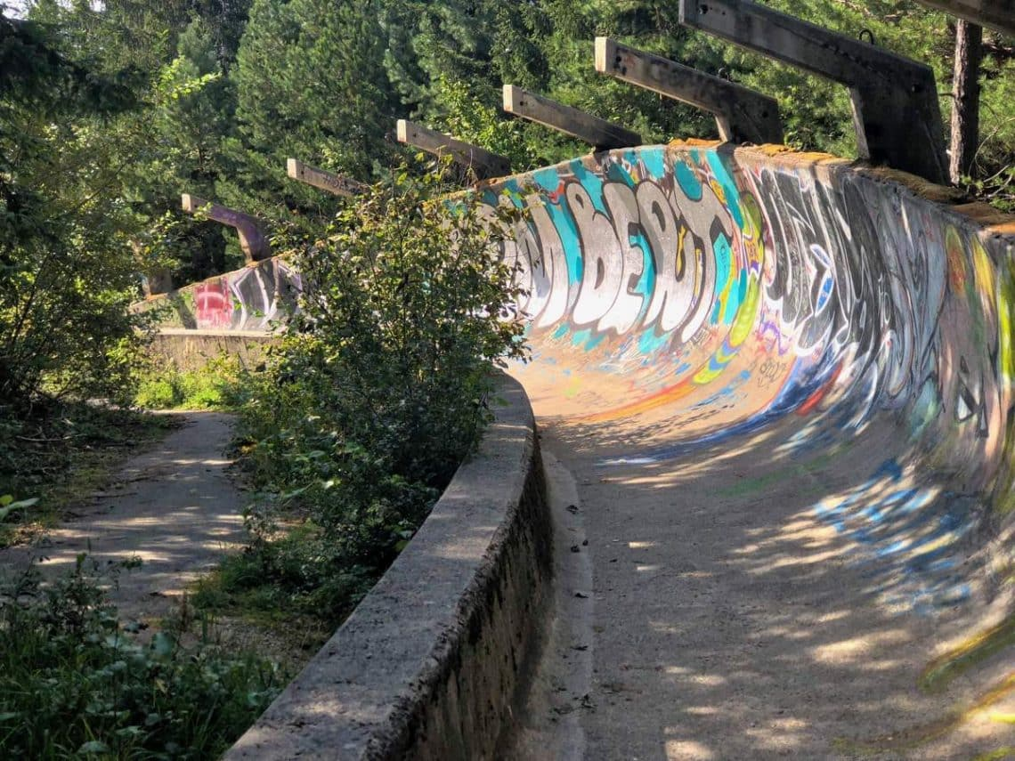 Sarajevo Olympic Bobsleigh and Luge Track - Lillehammer Bobsleigh Skeleton and Luge track