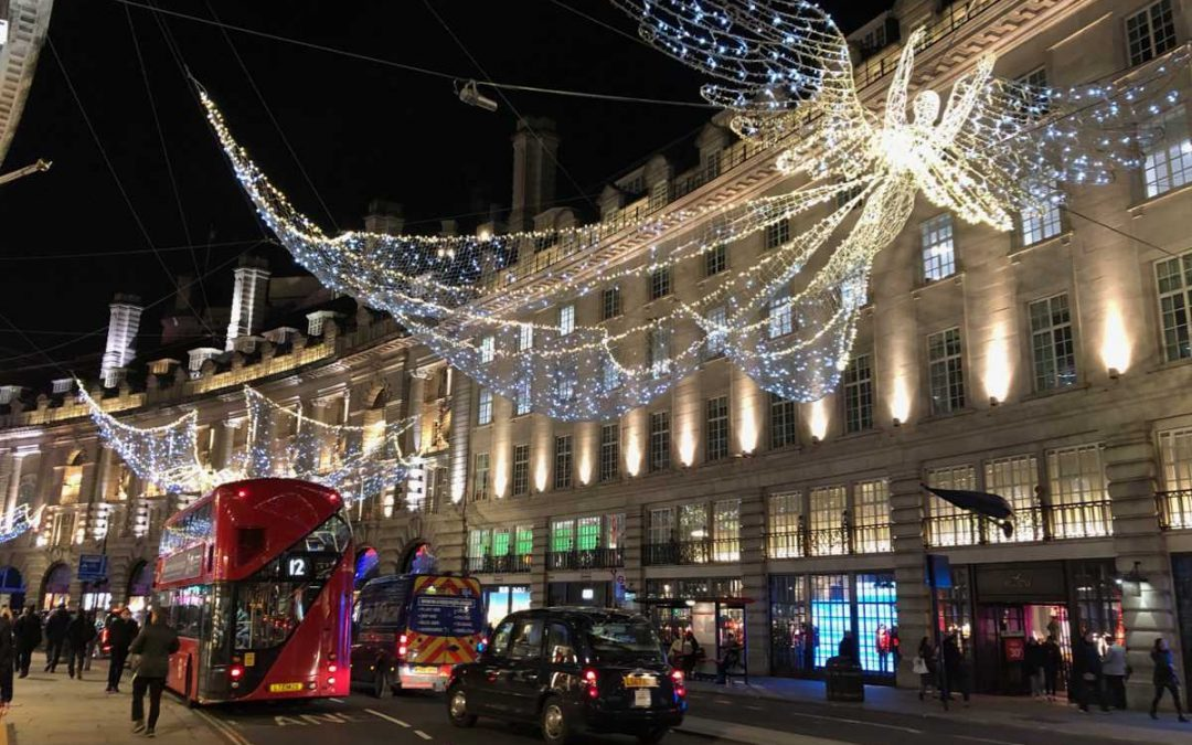 The ultimate Christmas lights tour in London