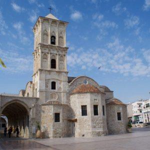Konnos Beach - Church of Saint Lazarus