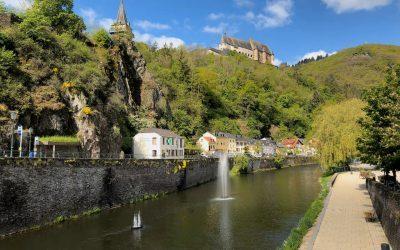 Explore Vianden Castle in the Luxembourg Ardennes